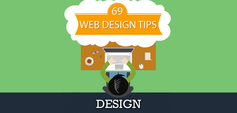 Web Design Tips Infographic