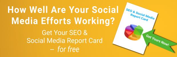 SEO & Social Media Report Card CTA copy