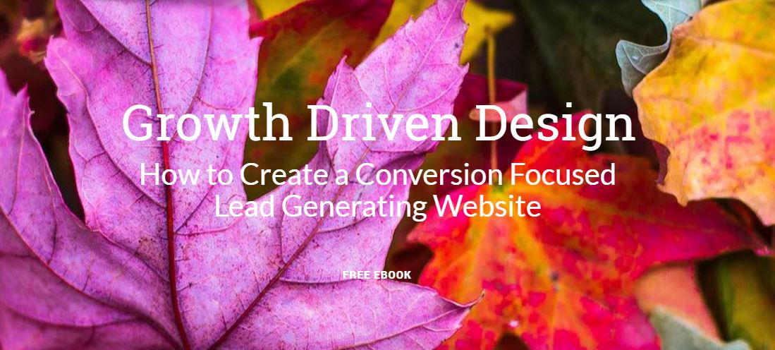 Growth Driven Design - How to Create a Conversion Focused Website