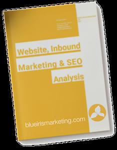 Website, Inbound Marketing & SEO Analysis